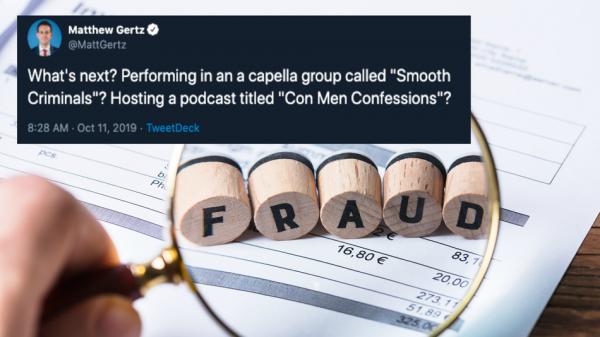 Giuliani associates owned businesses named 'Fraud Guarantee' and 'Mafia Rave'